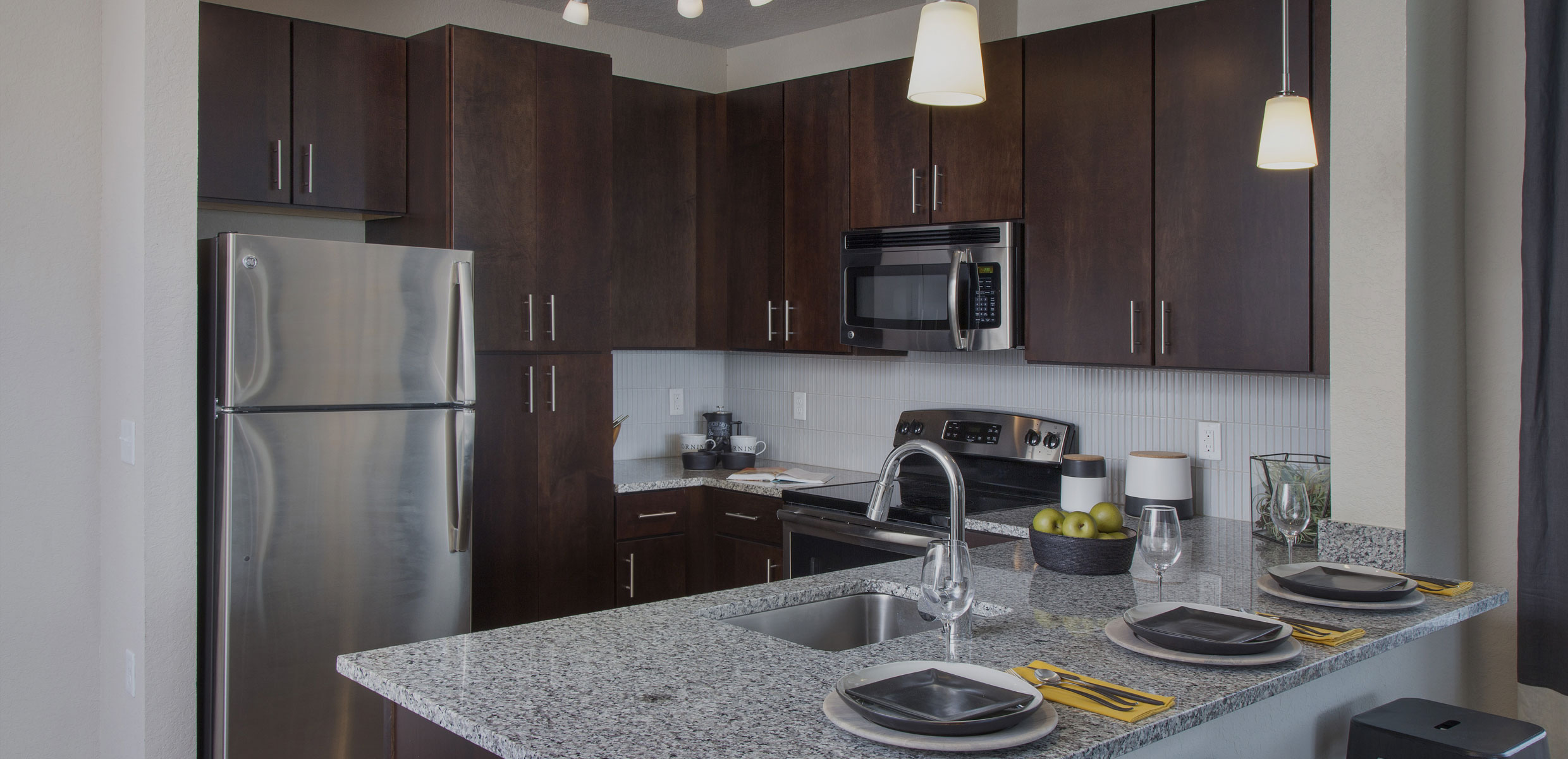 Luxury Kitchen in Dwell Nona Place apartment