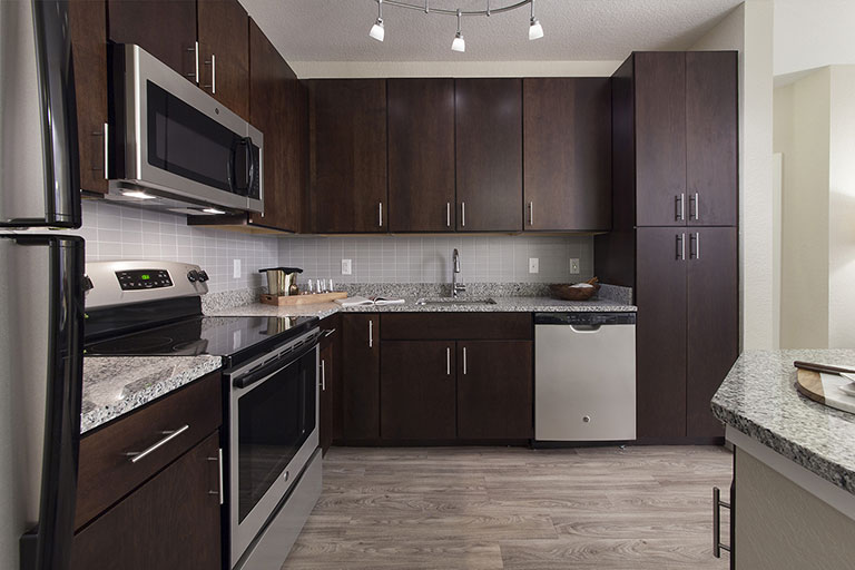 Luxury Kitchen at Dwell Nona Place apartment